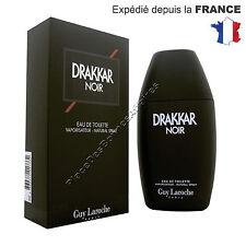 Parfum DRAKKAR NOIR de Guy Laroche Eau de Toilette 200 ml Neuf sous Blister !!!