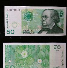 Norway 50 Kroner 2011 Pick-46d GEM UNC
