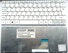 ACER ASPIRE ONE 521 522 532H D255 D257 D260 D270 E100 KEYBOARD UK WHITE F190