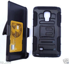 NP CITY Case with ID Card Holder Holster Belt Clip For Samsung Note Edge / N915