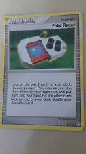 Poke Radar Pokemon Card UNCOMMON Trainer