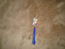 Korea Endless Love Couple Souvenir Collectible Keychain with Blue tassel FONS
