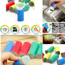 Magic Stainless Steel Metal Wash Brush Rust Remover Cleaning Detergent Stick E0Y