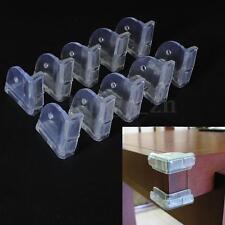 Lot 10 protection coins angles de table protège sécurité bébé enfant plastique