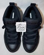 Converse All Star CT Street Cab Mid Black Mono Boy's Sneakers- Assorted Sizes