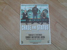 CHASE AND STATUS -  lovely colour tour flyer (Mint)