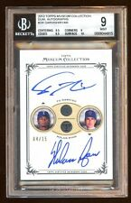 MUSEUM COLLECTION DUAL AUTO /15 MINT YU DARVISH / NOLAN RYAN AMAZING CARD 2013