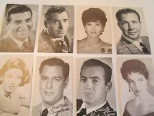Exhibit Cards 1940's thru the 70' Stars Of The Screen 75+ DIFFERENT,CHOICE
