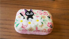NEW Kiki's Delivery Service JIJI Black Cat Contact Lens Case Container Holder