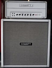 HIWATT Custom 50 Stack White Jimmy Page, The Edge, David Gilmour Sound
