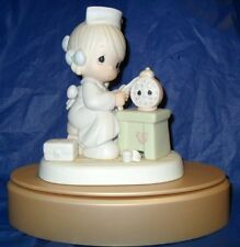 "*RETIRED PRECIOUS MOMENTS FIGURINE  ""TIME HEALS""  *MINT*   $55.00  VALUE"