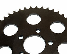 NEW BLACK REAR SPROCKET 51 TOOTH  6MM OFFSET FOR HARLEY 2000 & UP WHEELS