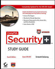 CompTIA Security+ Study Guide: Exam SY0-201,GOOD Book