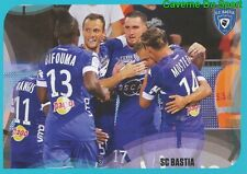 47 JUBILATION SC.BASTIA STICKER FOOT 2017 PANINI