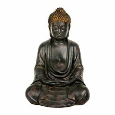 Oriental Furniture STA-BUD1 9.5-in Japanese Sitting Buddha Statue
