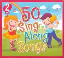50 SING ALONG SONGS FOR KIDS (2 CD Set) by Countdown Kids
