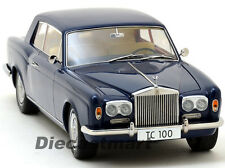 PARAGON MODELS 1:18 1968 ROLLS ROYCE SILVER SHADOW OXFORD BLUE (THOMAS CROWN)
