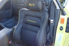 Custom made 1991-1999 Mitsubishi 3000GT/Stealth Syn Leather Seat Cover Black