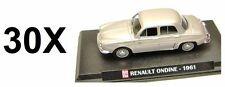 LOT OF 30 RENAULT DAUPHINE ONDINE -1961- 1:43 DIECAST CARS - MODEL CAR IXO 2