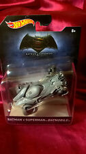 Hot Wheels Batman V Superman Batmobile Based On The Hit 2016 Movie Die-Cast New
