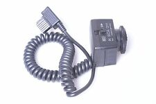 METZ FLASH SCA 311 FOR CANON  WITH 300A CONNECTING CABLE ADAPTER 45CL-4