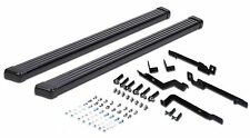 Fit Running Boards Side Steps Bar Black Fit 02-06 Jeep Liberty 07-12 Dodge Nitro