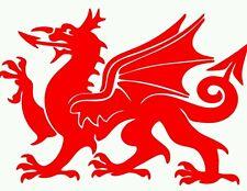 Welsh dragon car/van/bike sticker decal CYMRU Wales
