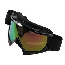 Mens Women Motorcycle Goggles ATV Off-Road Anti-UV Sun Glasses Windproof Eyewear