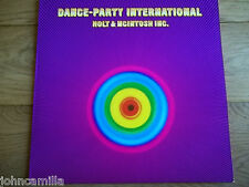 HOLT & MCINTOSH INC. - DANCE-PARTY INTERNATIONAL LP / RECORD - ASTAN - 50002
