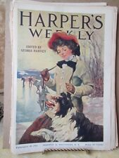 Vintage Print,HARPERS WEEKLY,Cover Only,Feb 1911