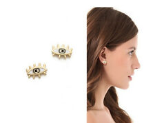 HOT SALE MARC BY MARC JACOBS GOLD PERSONALITY GLAZE EYES STUD EARRINGS #E0340