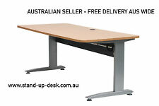 Standard Height Adjustable Electric Desk Package - 1400mm Desktop