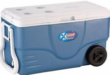 Coleman Camping Tailgating 62 Quart Xtreme Wheeled Ice Chest Cooler 6262A748