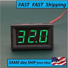 Mini DC 2.5V To 30V Voltage Meter LED 3-Digital Panel Display Volt Voltmeter
