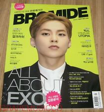 BROMIDE EXO VIXX BTS BANGTAN BOYS MISS A K-POP MAGAZINE 2015 MAY NEW
