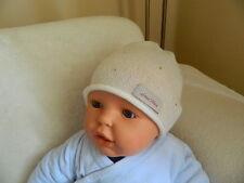"""Babymütze """"Duffy"""" 100% Cashmere, mit Swarovski Steinen, Taufmütze, Taufgeschenk"""