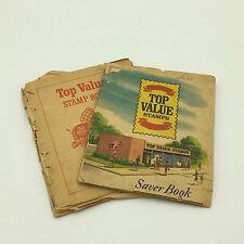 Vintage 1966 Trading Stamps Top Value Books  USED/ SEE PHOTOS