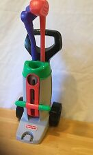 Fisher Price Grow To Pro Golf Set Vintage 1998 Toy Clubs Cart