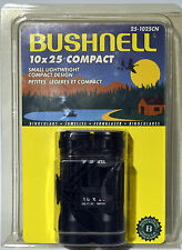 Bushnell 10x25 Compact Small Lightweight Compact Design Binoculars with Case