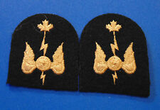CANADA Armed Forces Canadian Navy Communications RADIOMAN sleeve badges