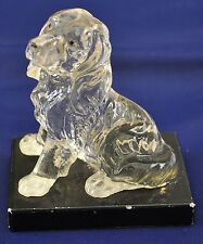 A Cast Figure of a Spaniel; possibly a Springer