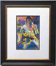 LeRoy Neiman ELVIS PRESLEY Hand Signed Litho NEWLY CUSTOM FRAMED