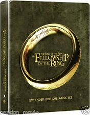 Lord of the Rings: Fellowship of the Ring - Extended Edition Steelbook (Blu-ray)