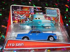 "DISNEY PIXAR CARS ""ITO SAN"" Die-Cast Metal, Scale 1:55, NEW, Mattel"