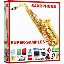 Alto Tenor Bariton Saxophone 24 bit Wav jazz blues latin soul ableton sax Sounds