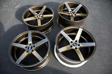 20X9 / 20x10.5 STR607 Wheels 5X120 Rims Fits Bmw 550I 645 650 745 750 750(Used)
