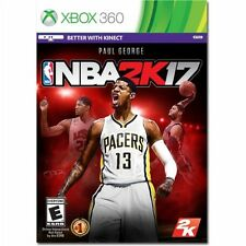 Xbox 360 NBA 2K17 17 2017 Basketball Paul George NEW Sealed Region Free KINECT