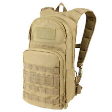 CONDOR MOLLE Tactical Nylon Fuel Hydration Water Carrier Pack 165 - COYOTE TAN