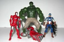 Marvel Avengers  Toy Figure Set  JUGGERNAUGHT IRON MAN, HULK and CAPTAIN AMERICA