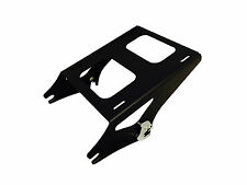 Black Detachable Two-up Style Tour Pack Mounting Rack for 2014+ Harley Touring